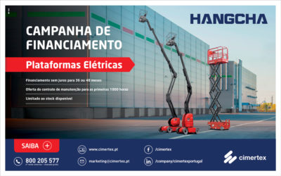 Hangcha Aerial Working Equipment Campaign