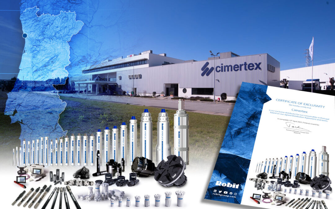 Cimertex is a Robit Distributor, Exclusively For Portugal