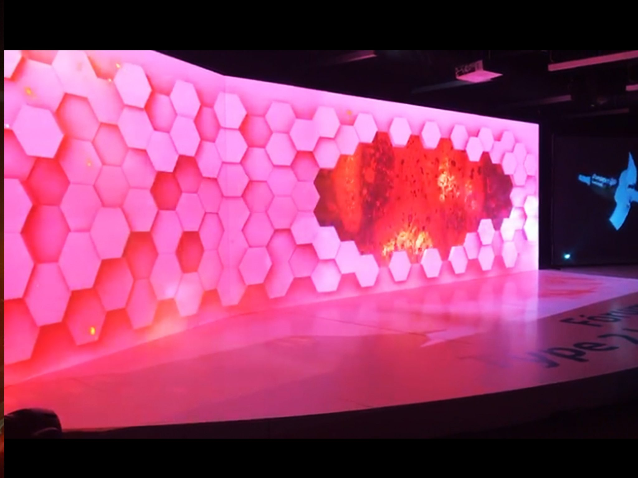 Video Mapping Safoni a decorrer